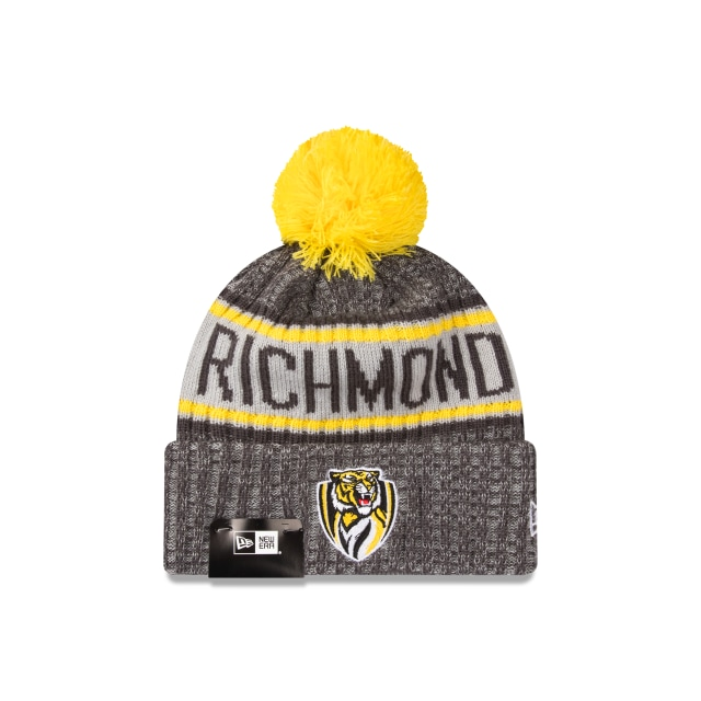 Richmond Tigers Graphite Grey Marl Beanie | New Era Cap