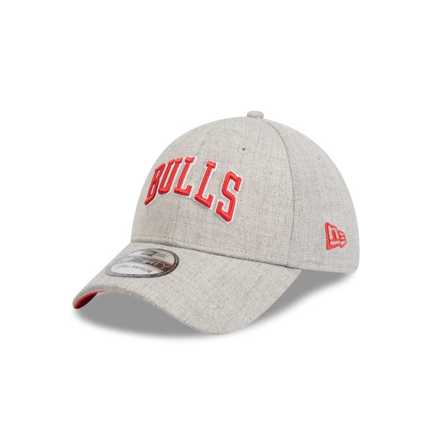 Chicago Bulls Heather Grey Script 39thirty | New Era Cap