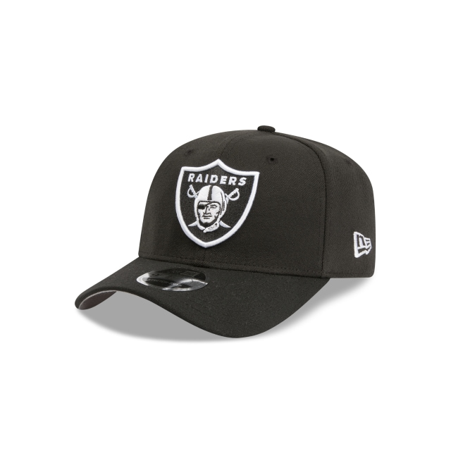 Las Vegas Raiders Black 9FIFTY Stretch Snapback | Las Vegas Raiders Hats | New Era Cap