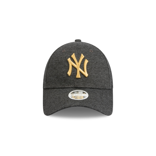 New York Yankees Black Jersey And Gold Womens 9FORTY | New York Yankees Hats | New Era Cap