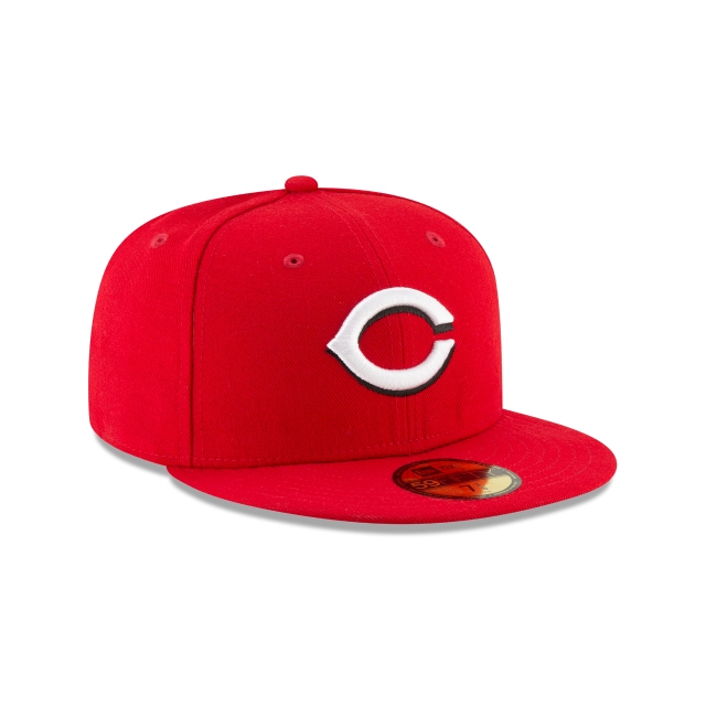 Cincinnati Reds Authentic Collection 59FIFTY Fitted | Cincinnati Reds Hats | New Era Cap