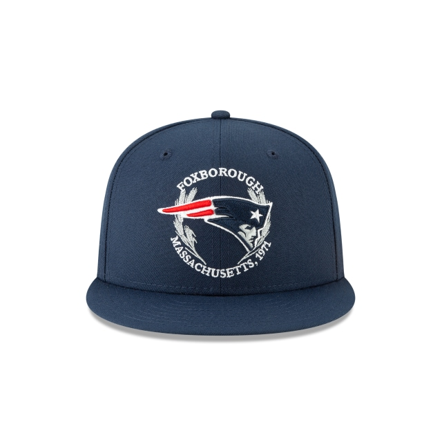 New England Patriots On-stage Nfl Draft 9fifty | New England Patriots Football Caps | New Era Cap