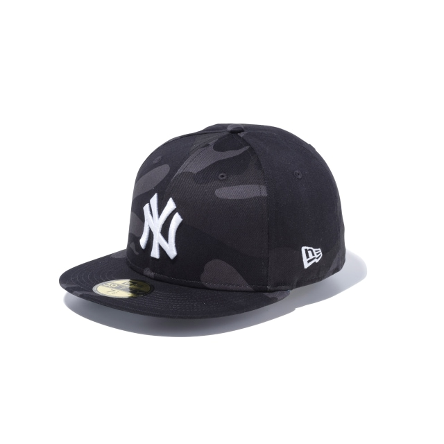 New York Yankees Black Camo 59fifty Fitted | New Era Cap
