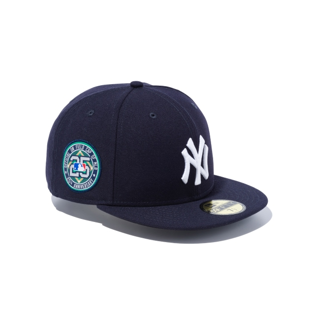 best service 3a8e4 6ed36 New York Yankees 25th Anniversary Mlb On Field Collection 59fifty Fitted   New  Era Cap