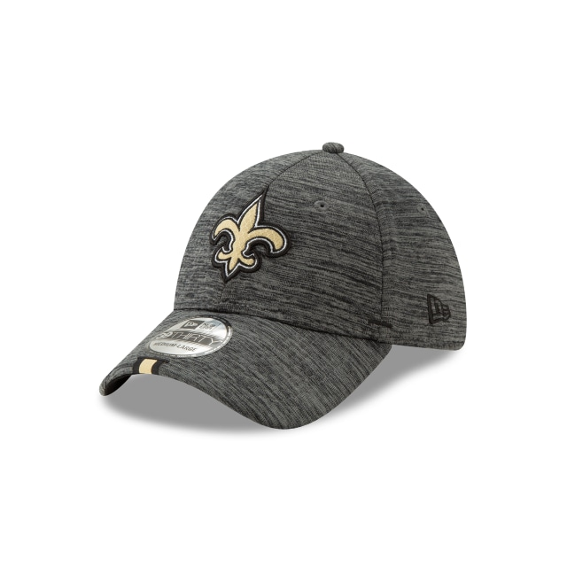 New Orleans Saints Nfl Training Graphite 39thirty Stretch Fit | New Era Cap