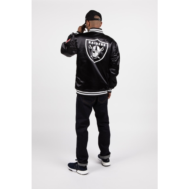 Oakland Raiders Black Varsity Jacket | Oakland Raiders Football Caps | New Era Cap