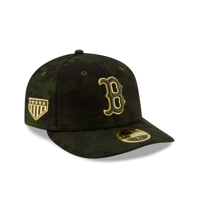 Boston Red Sox Armed Forces Low Profile 59fifty Fitted | Boston Red Sox Baseball Caps | New Era Cap