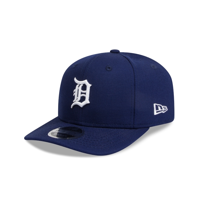 Detroit Tigers Dark Royal 9fifty Original Fit Pre-curved Snapback | New Era Cap