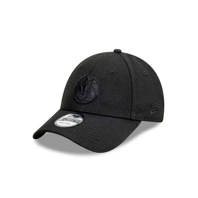 Dallas Mavericks Black On Black 9FORTY | Dallas Mavericks Hats | New Era Cap