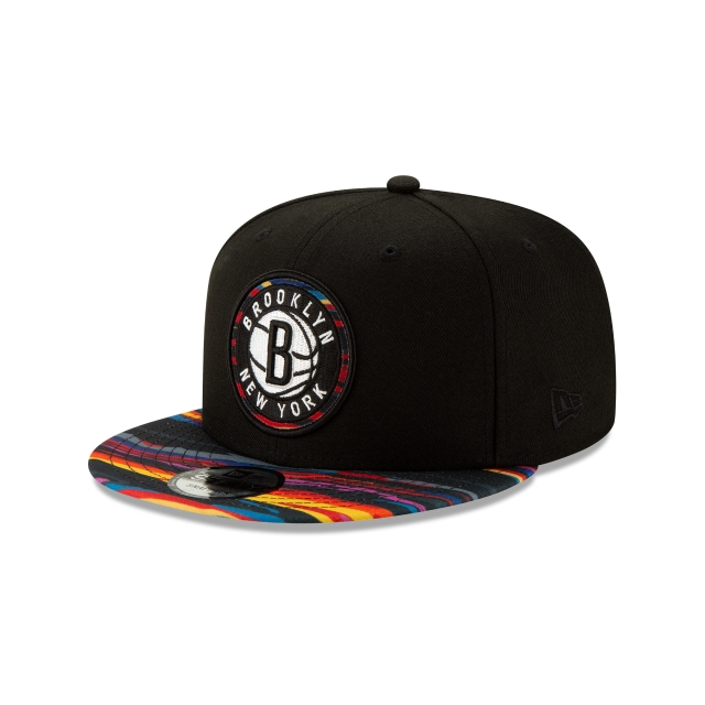Brooklyn Nets Alt NBA Authentics City Series 9FIFTY Snapback | Brooklyn Nets Hats | New Era Cap