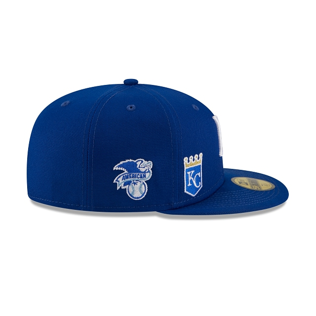 Kansas City Royals Multi Patch Official Team Colours 59FIFTY Fitted | Kansas City Royals Hats | New Era Cap