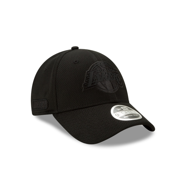 Los Angeles Lakers NBA Authentics Back HaLF Series Black Stretch Snap 9FORTY | Los Angeles Lakers Hats | New Era Cap