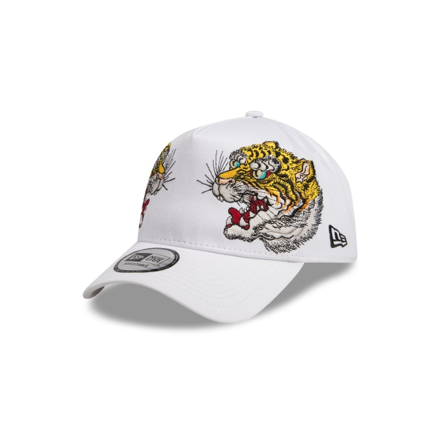Masumi Ishikawa Tiger White 9forty A-frame | New Era Cap