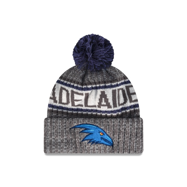 Adelaide Crows Graphite Grey Marl Beanie | New Era Cap