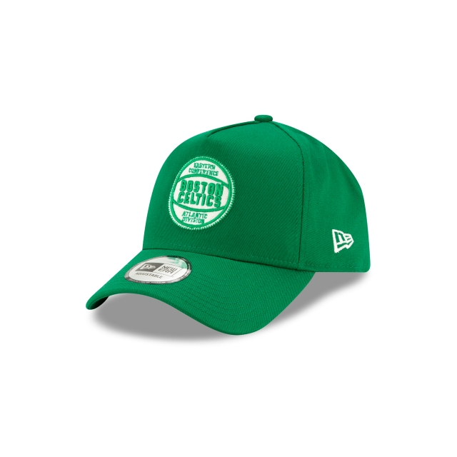 Boston Celtics Green Felt Patch 9forty A-frame | Boston Celtics Basketball Caps | New Era Cap