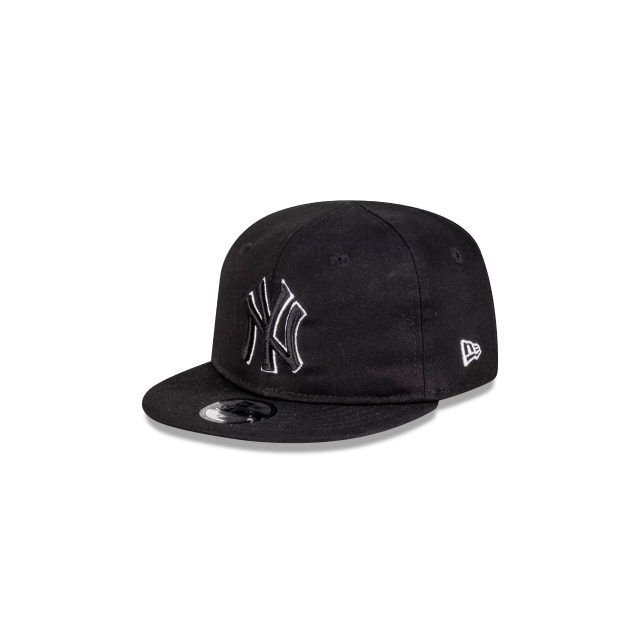 New York Yankees Black White My 1st Infant 9FIFTY | New York Yankees Hats | New Era Cap