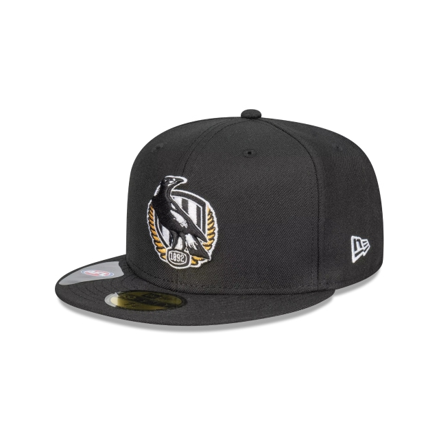 Collingwood Magpies Team Colour 59FIFTY Fitted | Collingwood Magpies Hats | New Era Cap