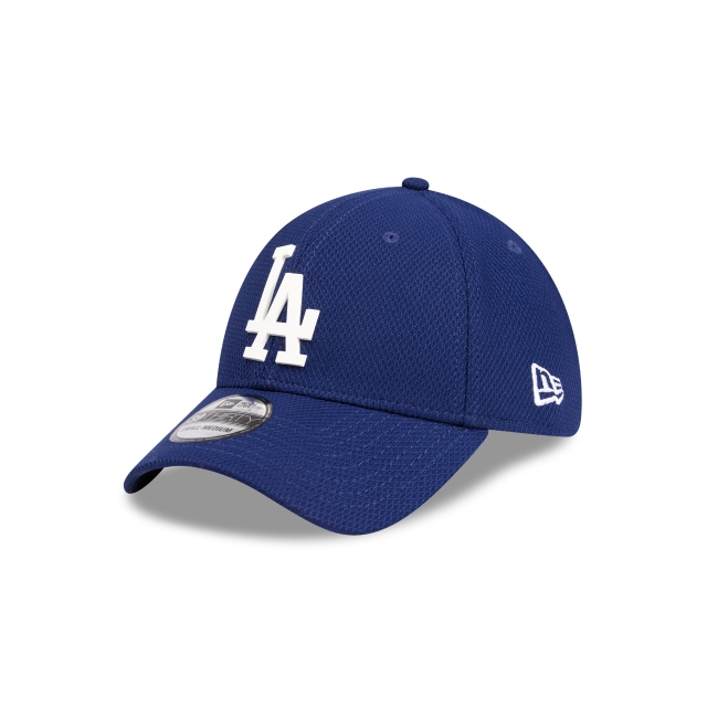 Los Angeles Dodgers Blue Rubber Logo 39THIRTY | Los Angeles Dodgers Hats | New Era Cap