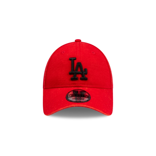 Los Angeles Dodgers Scarlet Canvas 9FORTY | Los Angeles Dodgers Hats | New Era Cap