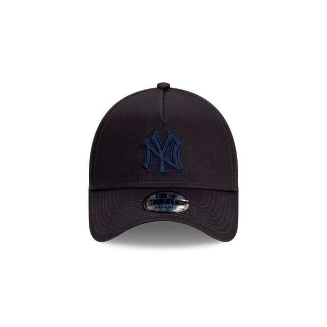 New York Yankees Tonal Detailing Navy 9FORTY A-frame | New York Yankees Hats | New Era Cap