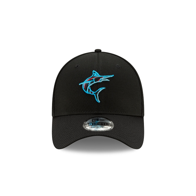 Miami Marlins 2021 Spring Training Official Team Colours 39THIRTY | Miami Marlins Hats | New Era Cap