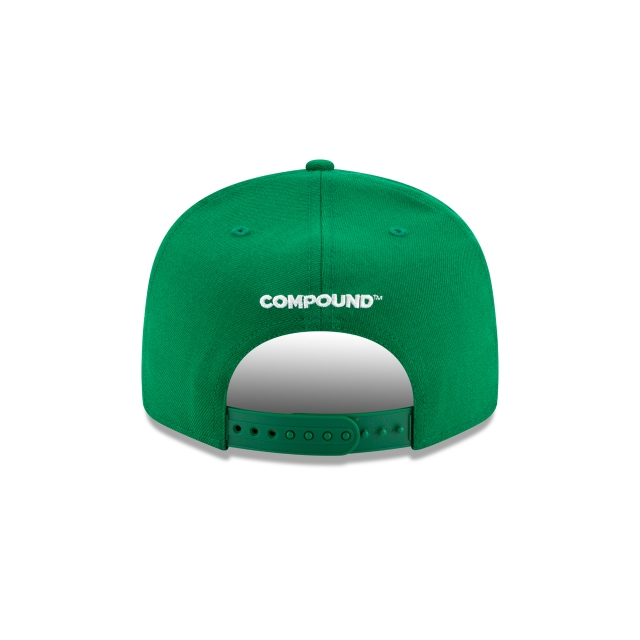 Compound X Boston Celtics 9FIFTY Snapback | Boston Celtics Hats | New Era Cap