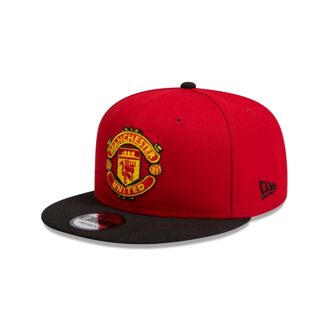 Manchester United Scarlet 9FIFTY | Manchester United Hats | New Era Cap