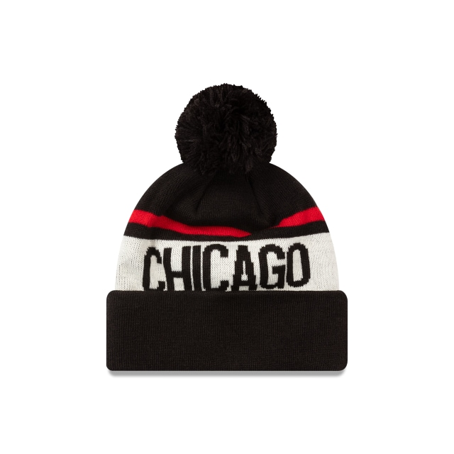 Chicago Bulls Team Wordmark Beanie | Chicago Bulls Hats | New Era Cap
