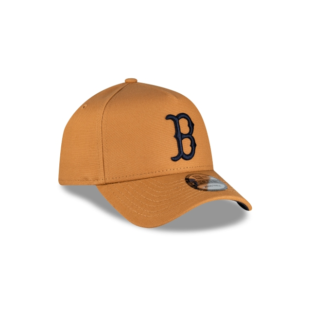 Boston Red Sox Bronze And Navy 9FORTY A-frame | Boston Red Sox Hats | New Era Cap