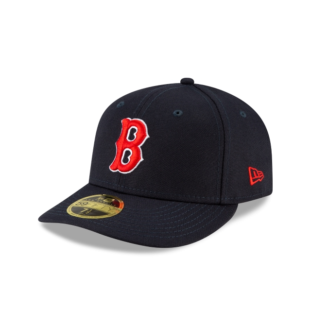 Boston Red Sox MLB Ligature Official Team Colours Low Profile 59FIFTY Fitted | Boston Red Sox Hats | New Era Cap