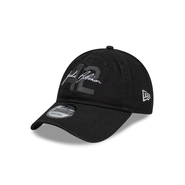 Jackie Robinson X New Era Los Angeles Dodgers Black Unstructured 9forty | New Era Cap