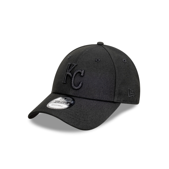 Kansas City Royals Black On Black 9FORTY | Kansas City Royals Hats | New Era Cap