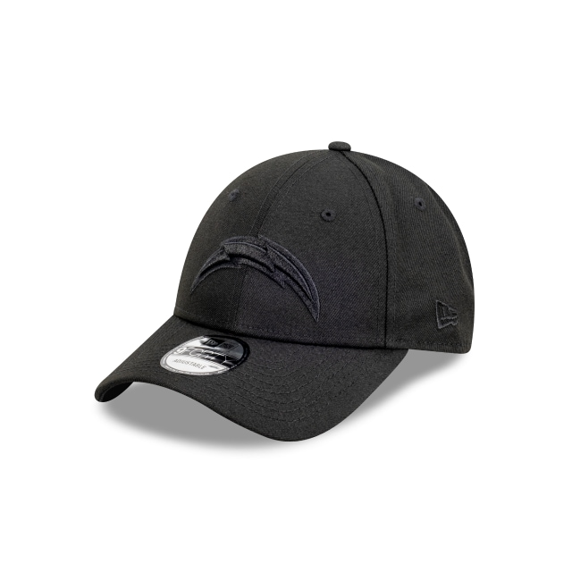 Los Angeles Chargers Black On Black 9FORTY | Los Angeles Chargers Hats | New Era Cap