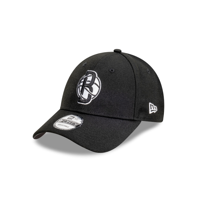 Brooklyn Nets Black And Stone 9FORTY Snapback | Brooklyn Nets Hats | New Era Cap