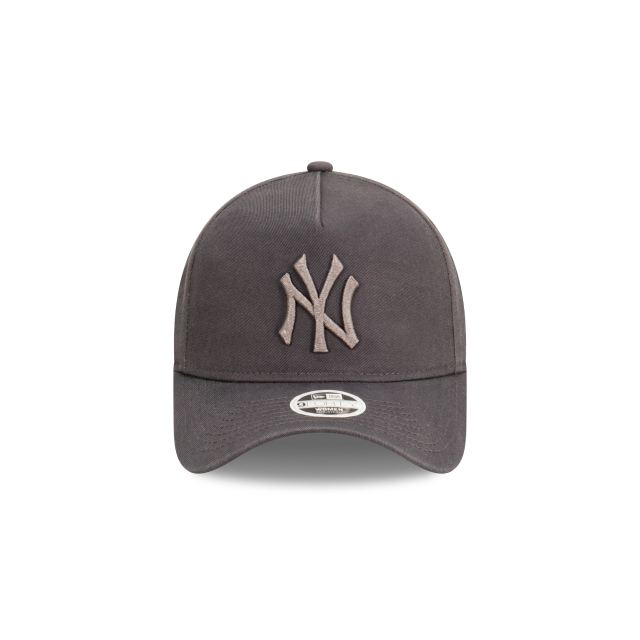 New York Yankees Tonal Graphite Womens 9FORTY A-frame | New York Yankees Hats | New Era Cap