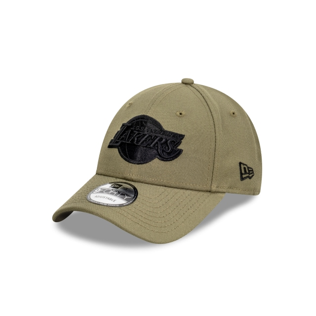Los Angeles Lakers Olive And Black 9FORTY | Los Angeles Lakers Hats | New Era Cap