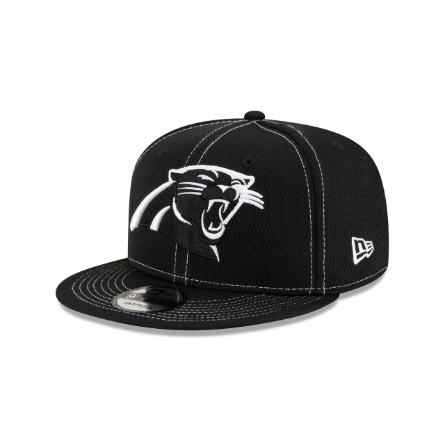 Carolina Panthers Nfl Sideline Road Black 9fifty Snapback | New Era Cap