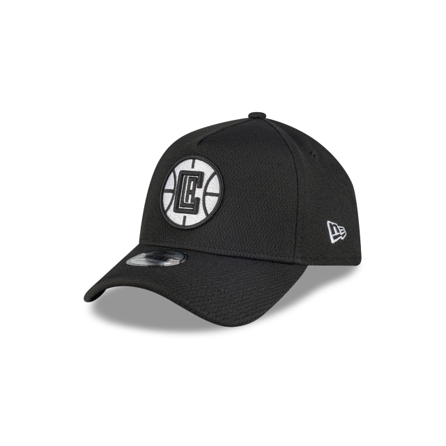 Los Angeles Clippers Black Mesh 9FORTY A-frame | Los Angeles Clippers Hats | New Era Cap
