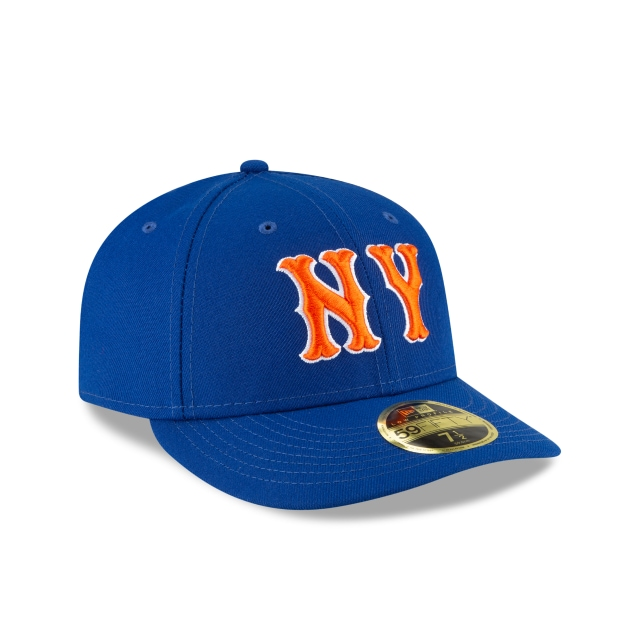 New York Mets 2020 MLB Ligature Official Team Colours Low Profile 59FIFTY Fitted | New York Mets Hats | New Era Cap