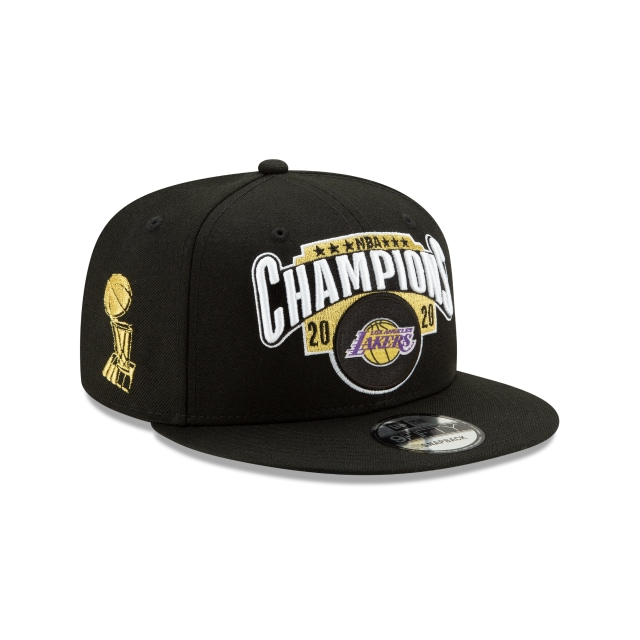 Los Angeles Lakers NBA Authentics 2020 Championships 9FIFTY Snapback | Los Angeles Lakers Hats | New Era Cap