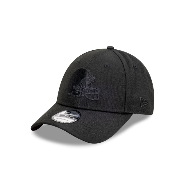 Cleveland Browns Black On Black 9FORTY | Cleveland Browns Hats | New Era Cap