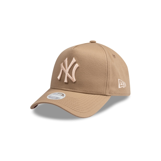 New York Yankees Beige And Peach Womens 9FORTY A-frame | New Era Cap