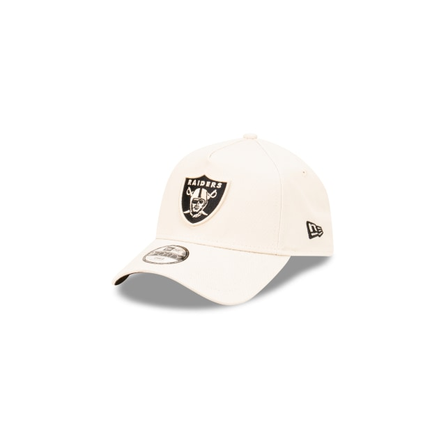Las Vegas Raiders Stone And Black Youth 9FORTY A-frame Snapback | Stone And Black Collection Hats | New Era Cap