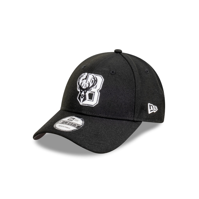 Milwaukee Bucks Black And Stone 9FORTY Snapback | Milwaukee Bucks Hats | New Era Cap