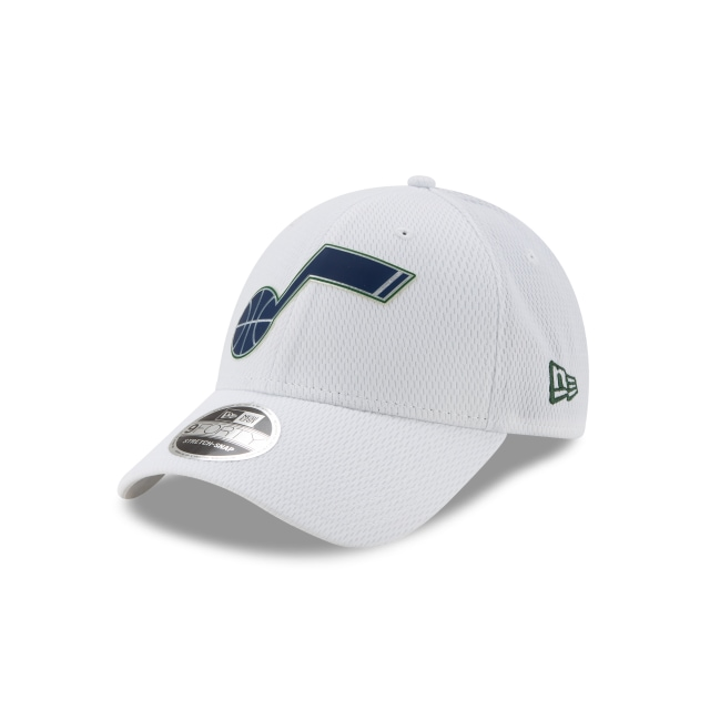Utah Jazz Nba Authentics Back Half Series White Stretch Snap 9forty | New Era Cap