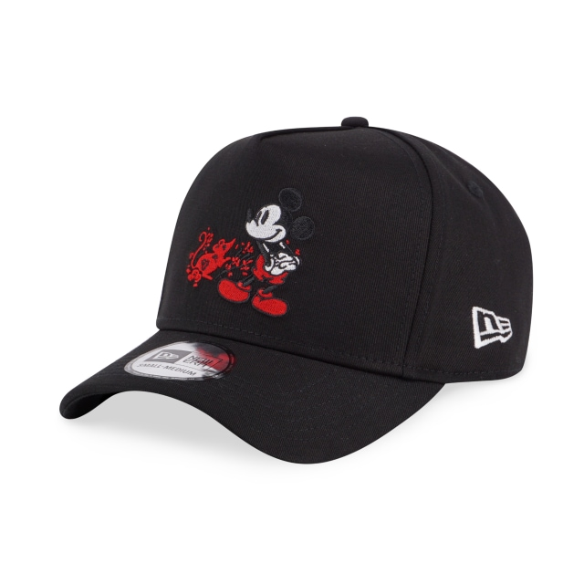 Mickey Mouse Chinese New Year Black 9FORTY K-frame | Mickey Mouse Chinese New Year Hats | New Era Cap