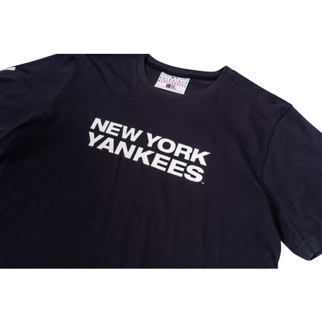 New York Yankees Navy MLB 100 Year T-shirt | New York Yankees | New Era Cap