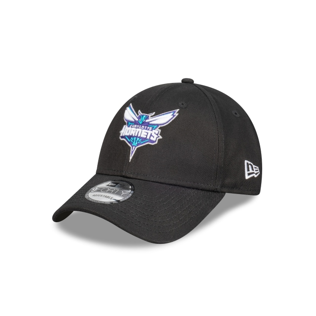 Charlotte Hornets Black Team 9forty | New Era Cap