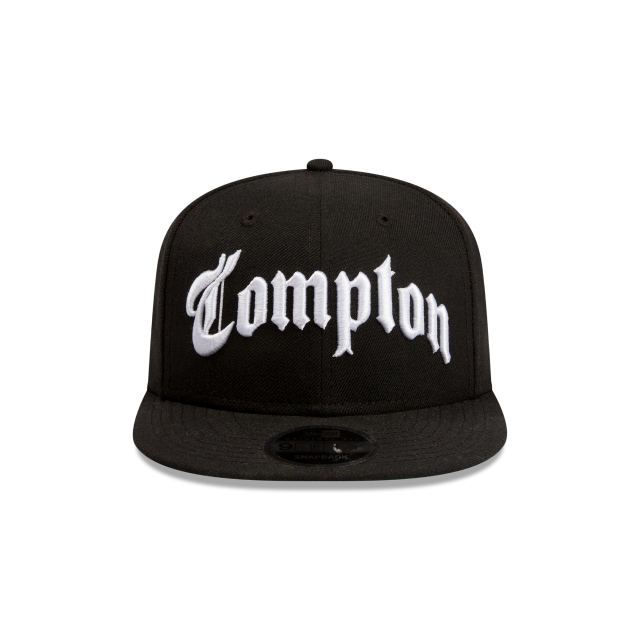 Compton Black 9fifty Snapback | Cust 9fifty Orig Fit Caps | New Era Cap