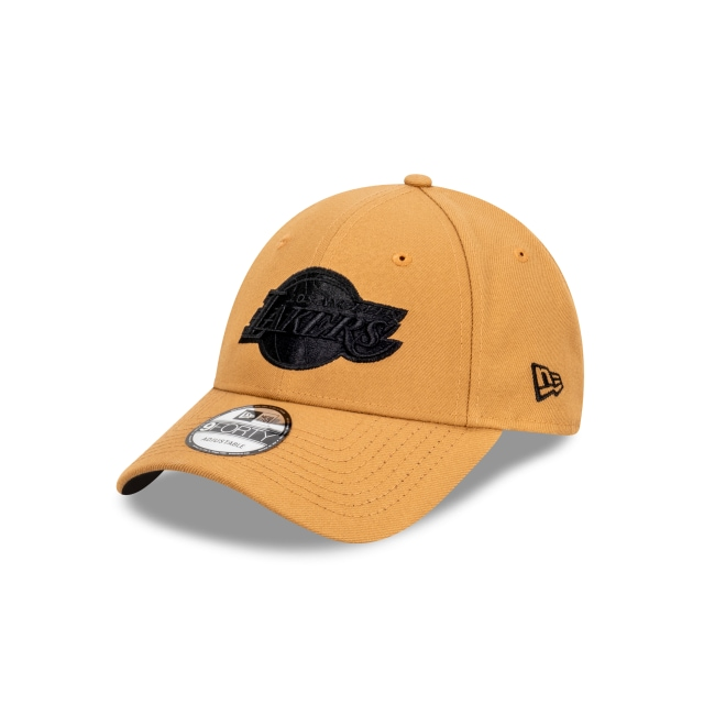 Los Angeles Lakers Wheat And Black 9FORTY | Los Angeles Lakers Hats | New Era Cap